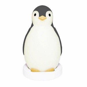 Беспроводная колонка+будильник+ночник пингвинёнок Пэм (PAM) ZAZU. 0+. Серый.