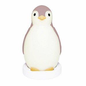 Беспроводная колонка+будильник+ночник пингвинёнок Пэм (PAM) ZAZU. 0+. Розовый.