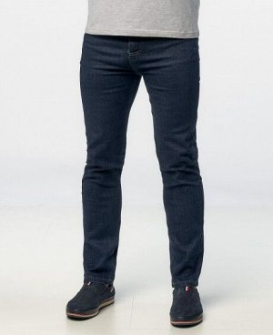 Джинсы Классические пятикарманные джинсы прямого кроя с застежкой на молнию и пуговицу. Состав: 85% - хлопок, 15% - спандекс.