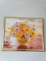 Рама для картин (зеркал) 40 х 50 х 2.7 см, пластиковая, Calligrata, золото