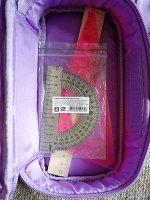 """Пенал TIGER FAMILY 1 отделение, раскладная откидная планка, ткань, """"Rainbow Sorbet"""", 23х12х7см, 228949, TGRW-011F1"""
