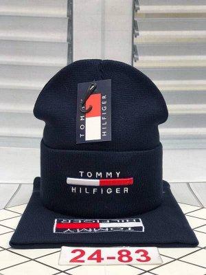 Комплект шапка+снуд осенний размер от 5 лет до взрослый