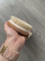 Массажная щетка для мытья тела Toveon 003