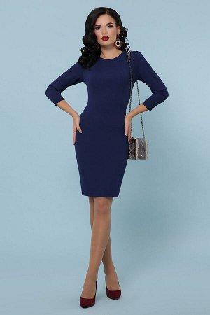 Платье Модеста д/р темно синий p31255 от Glem
