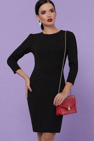 Платье Модеста д/р черный p31260 от Glem