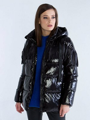 Куртка женская лаковая