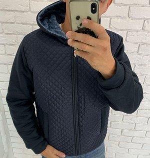 Куртка теплая, внутри с мехом