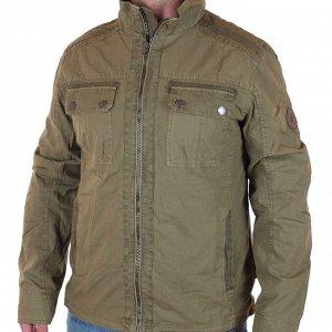 Демисезонная мужская куртка-парка Southern Territory  (Норвегия). Модный милитари цвет, натуральная ткань, никакого дешевого декора Тр381 ОСТАТКИ СЛАДКИ!!!!