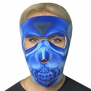 Антиковидная полнолицевая неопреновая маска Wild Wear X-Ray - Оптимальное сочетание функций: защита в период пандемии, невероятный сочный дизайн, многофункциональность и многоразовость, доступная цена