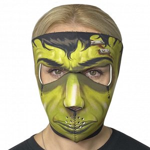 Многоразовая полнолицевая антивирусная маска Wild Wear Undertaker - Маска изготовлена из неопрена. Объединяет в себе надежную защиту от коронавируса, шикарный брутальный дизайн, простоту в ношении. По