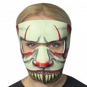 Полнолицевая защитная маска Wild Wear Slayer из неопрена - Обеспечивает надежную защиту в период пандемии, максимально удобна для поездок на велосипедах, электросамокатах, моноколесах, мотоциклах, гир
