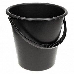 Ведро пластмассовое 12л, д30см, h29см (Россия)
