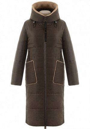 Зимнее пальто на верблюжьей шерсти COR-8815