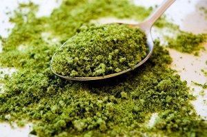 Зеленая соль для салатов и соусов (50 г)