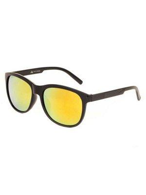 Солнцезащитные очки 3704 Желтые Зеркальные