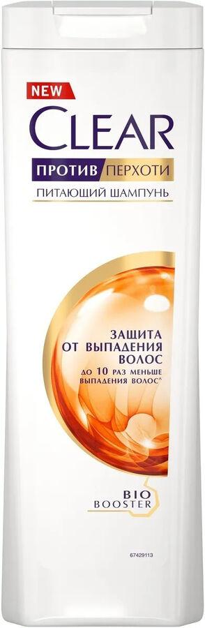 Шампунь женский Защита от выпадения волос (против перхоти) Clear  400мл