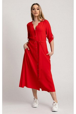 Платье KASKADA Elektra красный
