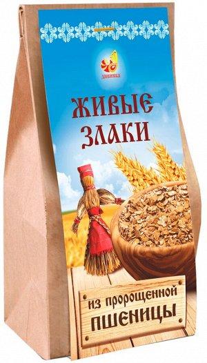 Каши Живые злаки: хлопья пшеничные пророщенные п/п 300 г