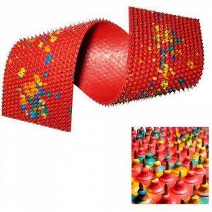 Аппликатор Ляпко двойной 6,2 мм (размер 105х460 мм красный)
