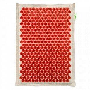 Аппликатор Кузнецова на мягкой подложке 41x60 см Красный – менее острые иглы