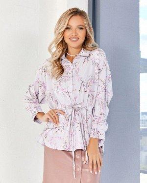 Блузы SA-333_серый от ISSA PLUS
