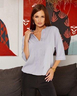 Блузы SA-284_серый от ISSA PLUS