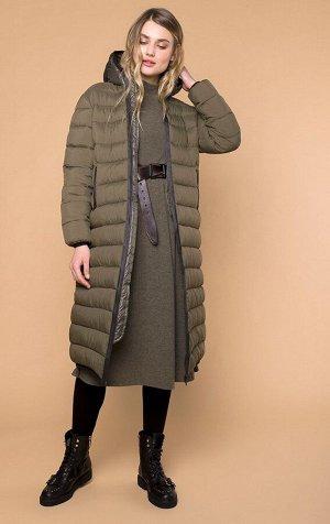 Стеганная куртка с капюшоном MR 202 2212 0819 Khaki от MR520
