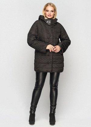 Женская демисезонная куртка Индиго черная 401601 от Vlavi