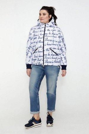 Женская демисезонная куртка Бомбер белый 40242331 от Vlavi