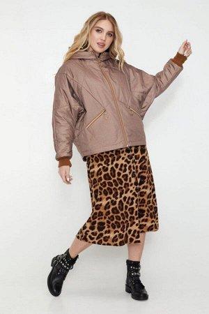 Женская демисезонная куртка Бомбер шоколад 40242330 от Vlavi