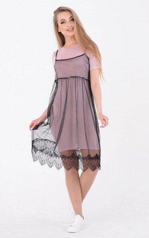 Стильное платье-двойка 3646 от Santali