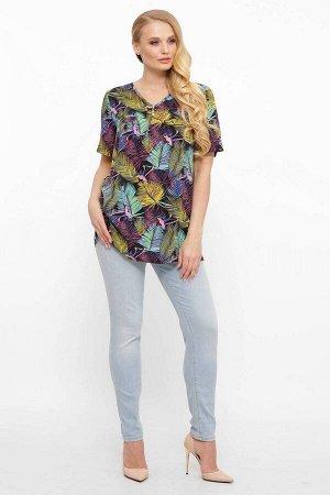 Блуза из штапеля ВЕДИ сиреневая от Tatiana