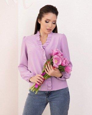 Блузы SA-184_сиреневый от ISSA PLUS