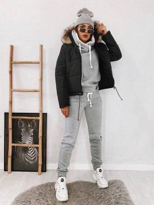 Куртка с капюшоном с мехом К-2112 от Remise Store