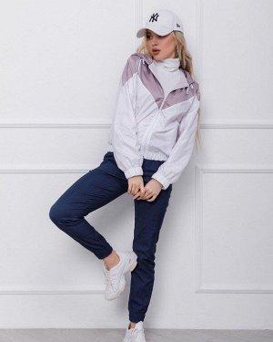 Куртки SA-122_белый/розовый от ISSA PLUS