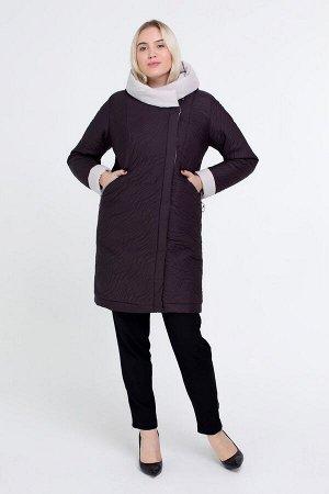 Куртка В 111 коричневый 100335 от Miledi