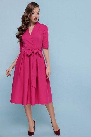 Платье Ангелина к/р фуксия p46610 от Glem