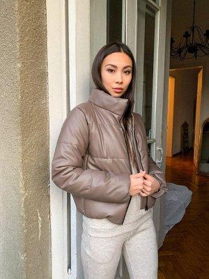 Женская куртка дутая из эко кожи 5 от K&ML