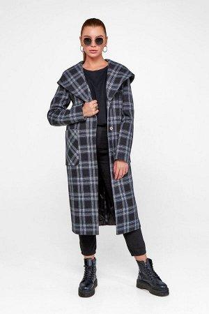 Пальто Джета черный 355-116-1 от Emass