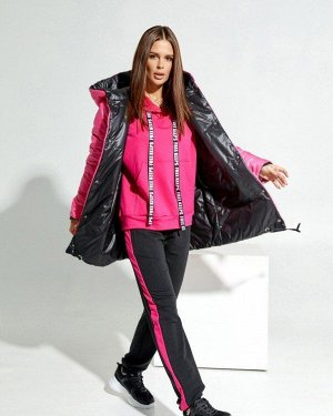 Куртки SA-31_черный/малиновый от ISSA PLUS