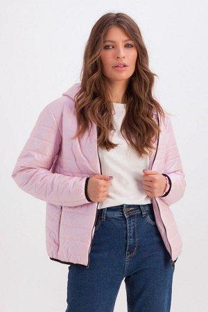 Куртка Трейси с капюшоном розовый 334-69-1 от Emass