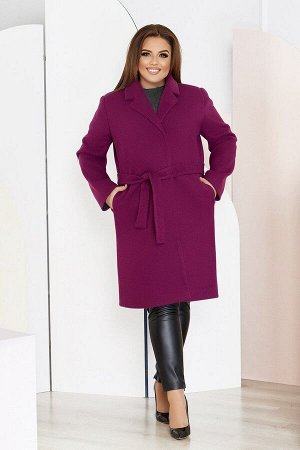 Пальто женское большого размера кашемировое 1320-2 от So StyleM