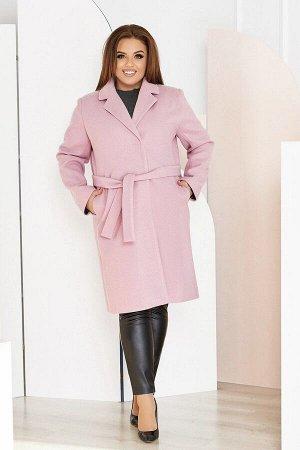 Пальто женское большого размера кашемировое 1320-3 от So StyleM