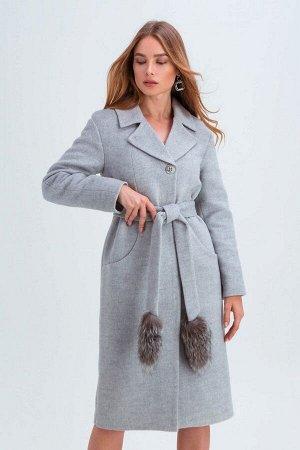 Пальто Тати светло-серый 152/1-78-2 от Emass