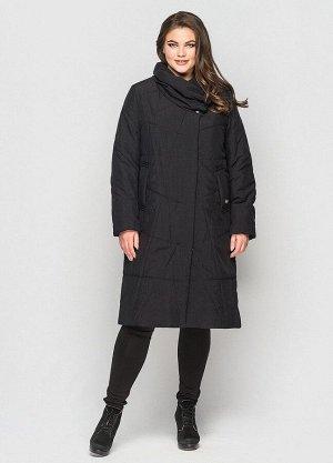 Зимнее пальто Хина черный 401302 от Vlavi