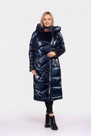 Пальто женское зимнее DAKOTA OFF (цвет синий) 2430 от Vicco