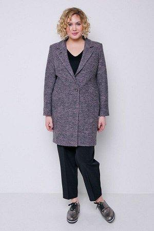 Пальто Аида серо-розовый 202-84-1 от Emass