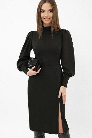 Платье Айла д/р черный p65303 от Glem
