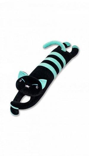 """Антистрессовая игрушка """"Черный Кот"""", голубой"""