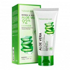 Пенка для умывания Bioaqua Aloe Vera Cleanser 100 g